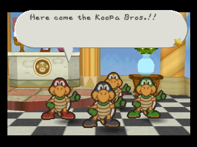 Paper Mario - Look! Ninja Turtles! - User Screenshot